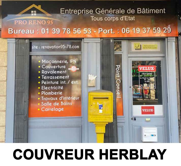 couvreur herblay