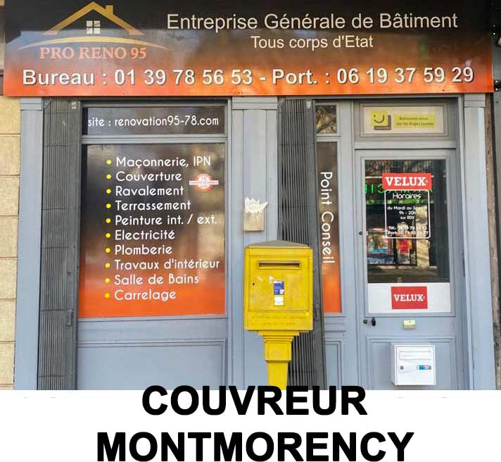 couvreur montmorency