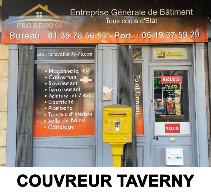 couvreur taverny